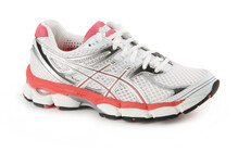 Asics Women's Gel Cumulus 14 2A white/snow/salmon pink